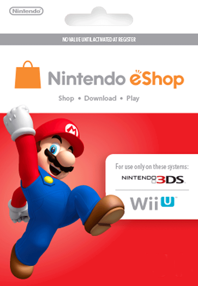 Free Nintendo Gift Card Codes